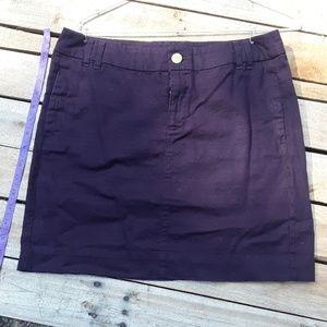 GAP size 6 stretch skirt